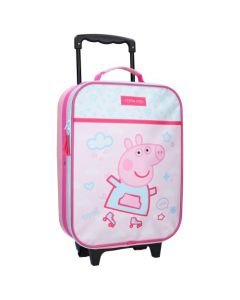 Peppa Pig Roll With Me Trolley Suitcase