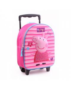 Peppa Pig Pretty Little Things 3D Trolley Backpack