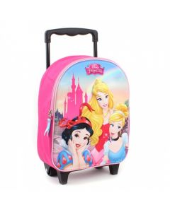 Princess Enchanted 3D Trolley Backpack