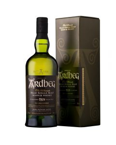 Ardbeg 10 Year Old Whiskey in Giftbox 70cl