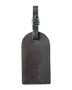 Go Security Luggage Tag Leather Twin 159