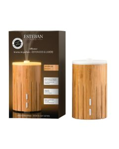 ESTEBAN Perfume Mist Diffuser Wood & Light Edition and Refresher Oil Figue Noire