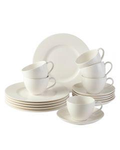 Villeroy & Boch Basic White Coffee Set