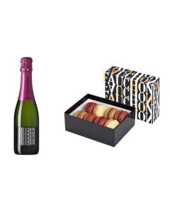Fauchon Champagne and box of 8 macarons