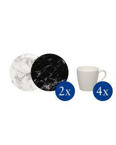 Villeroy & Boch 8-Piece Coffee Cup SetMarmory