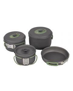 Bo-Camp Cookware Set - Explorer - 4-Piece - Hard Anodized