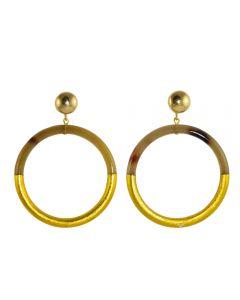 Miccy's Horn Hoops earrings