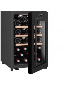 Climadiff CS31B1 - One Zone  Wine Cabinet - 31 Bottles