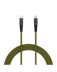 SoSkild Charging Cable Ultimate USB-A to Lightning 1.5m Black/Yellow