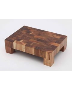 Deglon Acacia Bamboo Small cuting Board with Feet