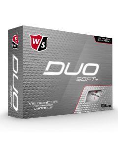 Wilson DUO Soft+ Golf Ball - 3 x 12