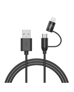 BeHello Charge and Sync 2-in-1 Lightning Micro-USB Cable