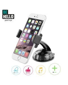 BeHello Universal Car Holder Windscreen with Longneck up to 5.5 inch