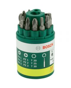 Bosch Screwdriver Bit Set 10Pcs