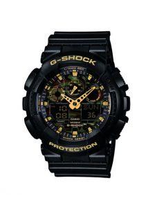 Casio G Shock GA100CF Black Watch