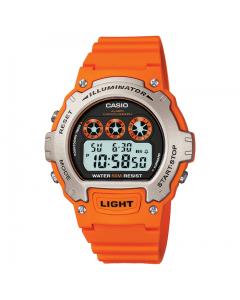 Casio Orange Digital Watch