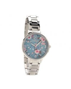 Cath Kidston Trailing Rose Silver Watch