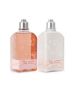 L'Occitane Cherry Blossom Shower Gel & Body Lotion Set
