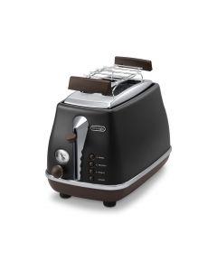 DeLonghi Icona Vintage Black - Toaster CTOV 2103BK