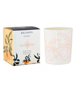 Balamata Douce Clementine Candle 190 grams