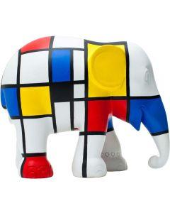 Elephant Parade - Hommage to Mondriaan 15cm