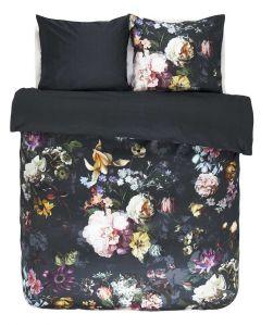 Essenza Luxurious Fleur 100%  Satin/Cotton Luxery Duvet Cover Blue