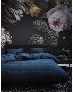 Essenza Luxurious Minte 100%  Satin/Cotton Luxery Duvet Cover Blue