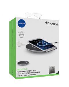 Belkin Universal wireless charging pad,15W,Silver