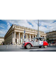 Visit Bordeaux Eternel in a Citroën 2CV - 45 minutes for one person