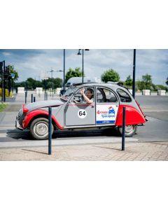 Visit Bordeaux Meconnu in a Citroën 2CV - 3h00 for one person