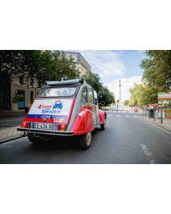 Visit Bordeaux Meconnu in a Citroën 2CV - 3h00 for two persons