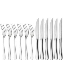 WMF Steak Knives and Forks 12-Piece
