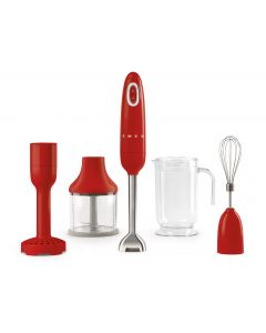 Smeg Immersion Blender - Red