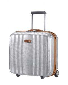 Samsonite Lite-Cube DLX Rolling Tote Plus - Aluminium