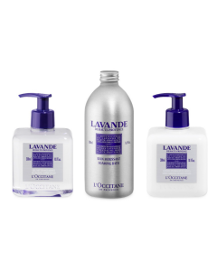 L'Occitane Lavender Luxury Bathroom Trio