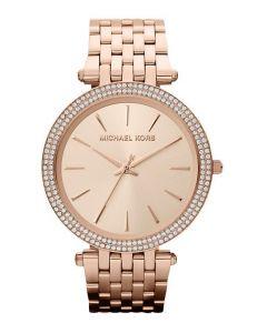 Michael Kors Darci Round Rose Gold Watch
