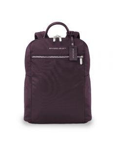 Briggs & Riley Rhapsody Slim Backpack Plum