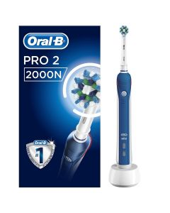 Oral-B PRO 2000 CrossAction Rechargeable Electric Toothbrush