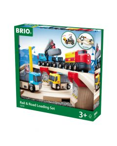 Brio Rail and Road Transport Set
