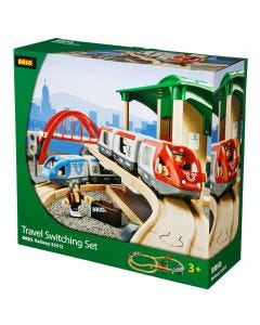 Brio Train Set with Platform