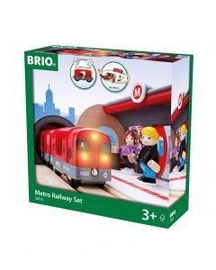 Brio Metro Train Set