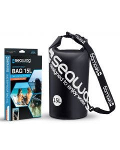Seawag Waterproof 15l Drybag With Strap And Handle