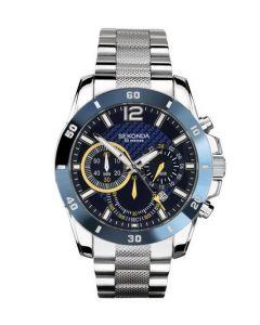 Sekonda Gents Stainless Steel Chrono Watch