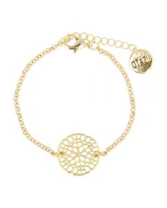 Otazu Flower Disc Bracelet