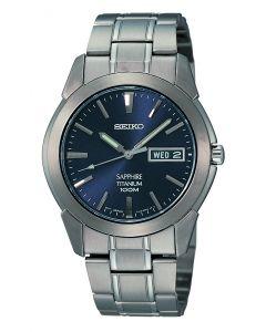 Seiko Men's Watch Titanium Quartz Analog