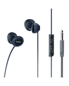 TCL- SOCL Wired In Ear 9mm Earbuds Phantom Black