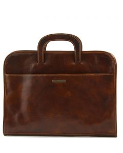 Tuscany Leather - Sorrento Mens Leather Briefcase
