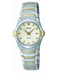 Seiko Ladies Watch bicolor Quartz Analog