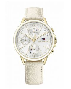 Tommy Hilfiger Ladies Carly White Watch