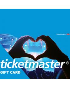 Ticketmaster GBP 50 e-Gift Card